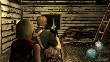 "Resident Evil 4 ""Замена HUD из Re 2007"""