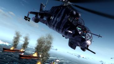 Геймплей Switch-версии Air Missions: HIND