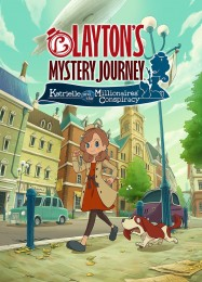 Обложка игры Layton's Mystery Journey: Katrielle and the Millionaires' Conspiracy