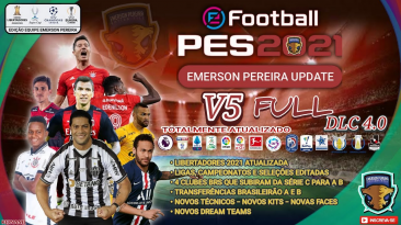 "PES 2021 ""Опшин V7 для PS4/PS5/PC [PesVicioBr]"""