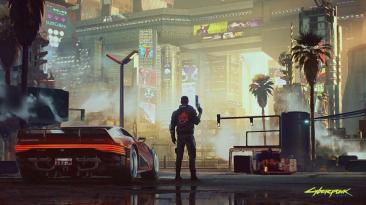 CDPR поделилась новым скриншотом и артом Cyberpunk 2077
