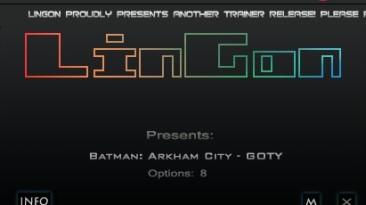Batman: Arkham City ~ GOTY Edition: Трейнер/Trainer (+5) [1.03] {LinGon}