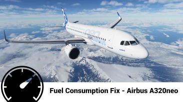 "Microsoft Flight Simulator ""Фикс топлива для Airbus A320neo"""