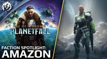 Новая раса Age of Wonders: Planetfall - амазонки