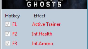 Call of Duty ~ Ghosts: Трейнер/Trainer (+8) [1.0.0.1] {MrAntiFun}