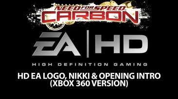 """Need for Speed: Carbon """"HD EA Лого и вступительные ролики (Xbox 360 Version)"""""""