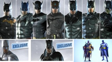 Все костюмы из игры и описание истории каждого из них