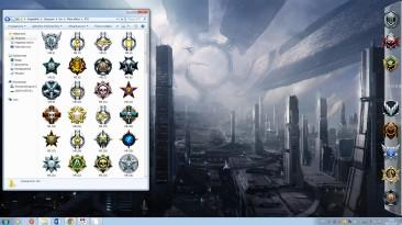 Mass effect - Набор иконок для рабочего стола