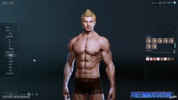 ArcheAge - создание персонажа (Male)