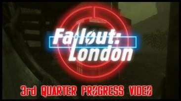 Новое видео модификации Fallout London