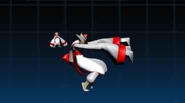 """Ultimate Marvel vs. Capcom 3 """"Hsien-Ko - костюм в бело-красных тонах"""""""