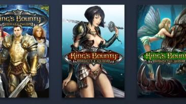"King's Bounty: The Legend ""Комплект оформления библиотеки Steam (Platinum Edition)"""