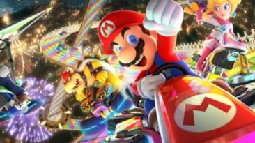 Mario Kart 8 Deluxe ворвалась в тройку лидеров британского чарта