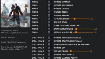 Assassin's Creed: Valhalla: Трейнер/Trainer (+20) [1.0.2 - 1.3.1] {FLiNG}