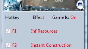 Command & Conquer: Generals ~ Zero Hour: Трейнер/Trainer (+3) [1.04] {MrAntiFun}