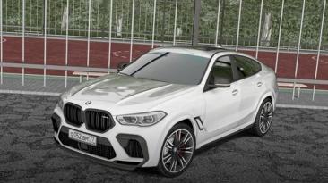 "City Car Driving ""BMW X6M Competition F96 V.2 (v1.5.8 - 1.5.9.2)"""