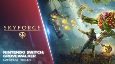Новый геймплей Switch-версии Skyforge, сосредоточенный на классе Друид