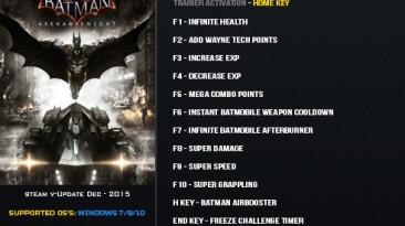 Batman: Arkham Knight: Трейнер/Trainer (+17) [Update 31.12.2015] {LinGon}