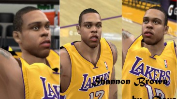 "NBA 2K10 ""Shannon Brown Cyber Face"""