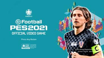 """PES 2021 """"Меню ЕВРО 2020"""""""