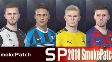 """PES 2018 """"Smoke Patch Face Pack"""""""