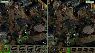 Planescape Torment - Сравнение Original vs. Enhanced Edition (Candyland)