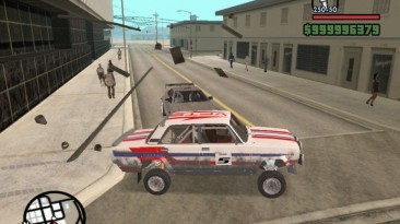 """Grand Theft Auto: San Andreas """"Ваз 2105 VFTS-ралли"""""""