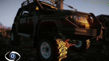 """Crysis 2 """"джип патриот из игры Полный привод 3. Последний поход"""""""