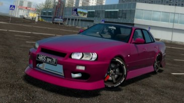 "City Car Driving ""Nissan Skyline ER34 (v1.5.9 - 1.5.9.2)"""