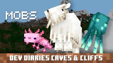 Дневник разработчиков Minecraft о грядущем обновлении Caves & Cliffs