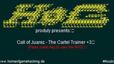 Call of Juarez - The Cartel: Трейнер (+3) [1.0] {HoG}