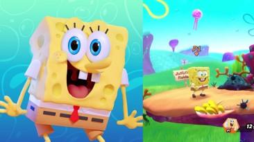 Новое видео Nickelodeon All-Star Brawl демонстрирует Губку Боба