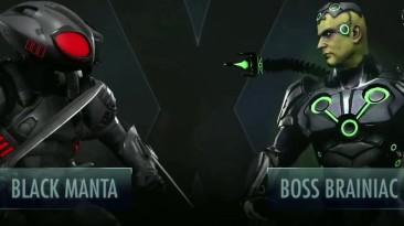 Injustice 2 Mobile - Обновление 3.3 Черная Манта Геймплей