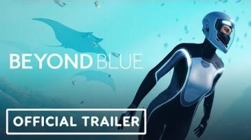 На ПК и консолях вышла медитативная приключенческая игра Beyond Blue - трейлер