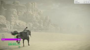 Геймер установил новый рекорд по убийству боссов в Shadow Of The Colossus
