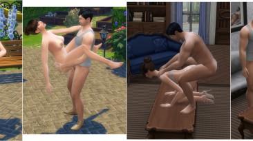 """The Sims 4 """"Пак качественных анимаций Вуху"""""""