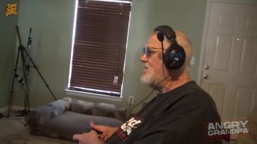Злой Дед играет в Call of Duty Ghosts 18+