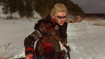 Косплей на Эйвор Варинсдоттир из Assassin's Creed: Valhalla