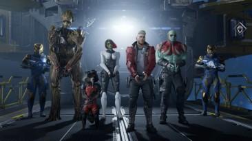 Состоялся консольный релиз Marvel's Guardians of the Galaxy