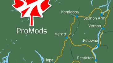 ProMods. Британская Колумбия. Что внутри?