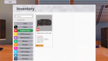 """PC Building Simulator """"Nvidia GeFroce GTX 3180 (Ti) (200VRAM!)"""""""
