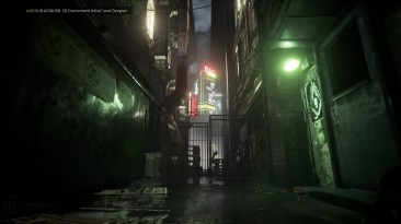Локация Blade Runner воссозданная на Unreal Engine 4