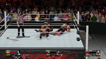 2K16 Online Random Triple threat match - Orton VS Sting VS Booker T