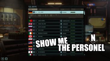 """XCOM 2 """"ShowMeThePersonnel"""""""