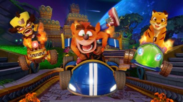 Игра Crash Team Racing Nitro-Fueled бьет рекорды