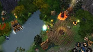 "Heroes Of Might And Magic 5: Повелитель орды ""Карта - Ferisgard"""