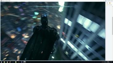 """Batman: Arkham Knight """"Включение внутриигровой консоли. {SunBeam}"""""""