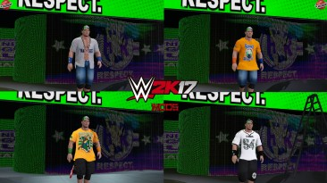 "WWE 2K17 ""John Cena 5 Нарядов (Лицевая анимация) WWE 2K19 Порт Мод"""