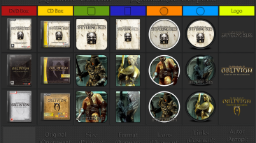 "The Elder Scrolls 4: Shivering Isles ""Иконки (ArtGamer)"""