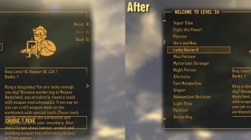 """Fallout: New Vegas """"Vanilla UI Plus 7.79 / Улучшенный оригинальный интерфейс"""""""